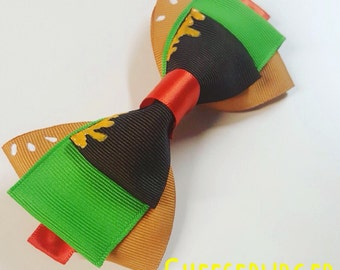 Cheeseburger Bow