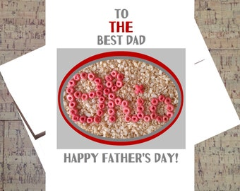 Funny Fathers Day Card, Ohio State Card, Fathers Day, Funny Card For Dad, Dad Card, Funny Dad Card, OSU, Buckeye Card, Scarlet And Gray