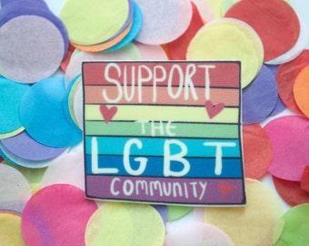 LGBT Pride Brooch