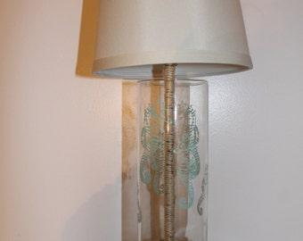 Beach Seahorse Lamp