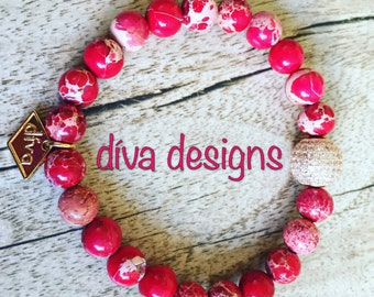 Natural beaded handmade bracelet