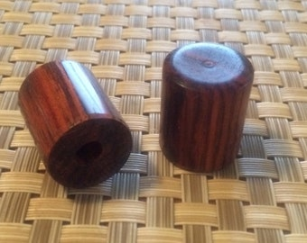 Hand turned Cocobolo Guitar Knobs Set of two