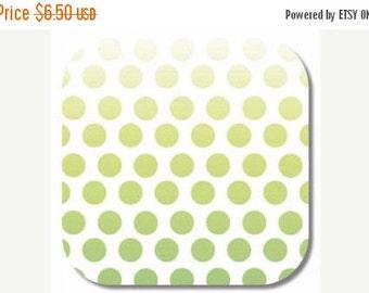 SUPER SALE Riley Blake, Ombre Dot in Green fabric, 1 yard