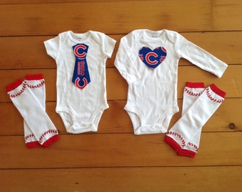 Chicago cubs baby girl – Etsy