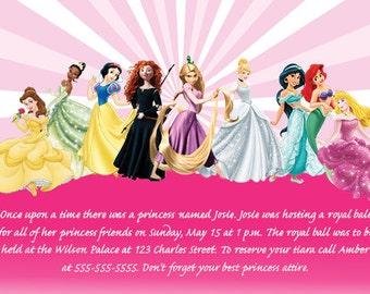 Disney Princess Invite