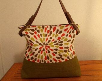 Many Petals pattern bag