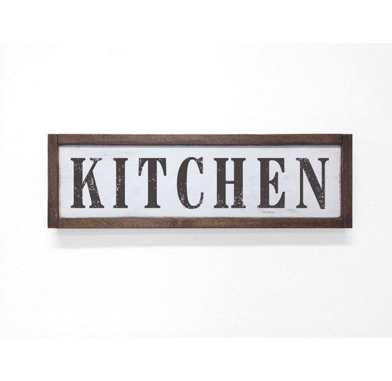 Signs For The Kitchen: Kitchen Sign Kitchen Decor Rustic Kitchen Sign By