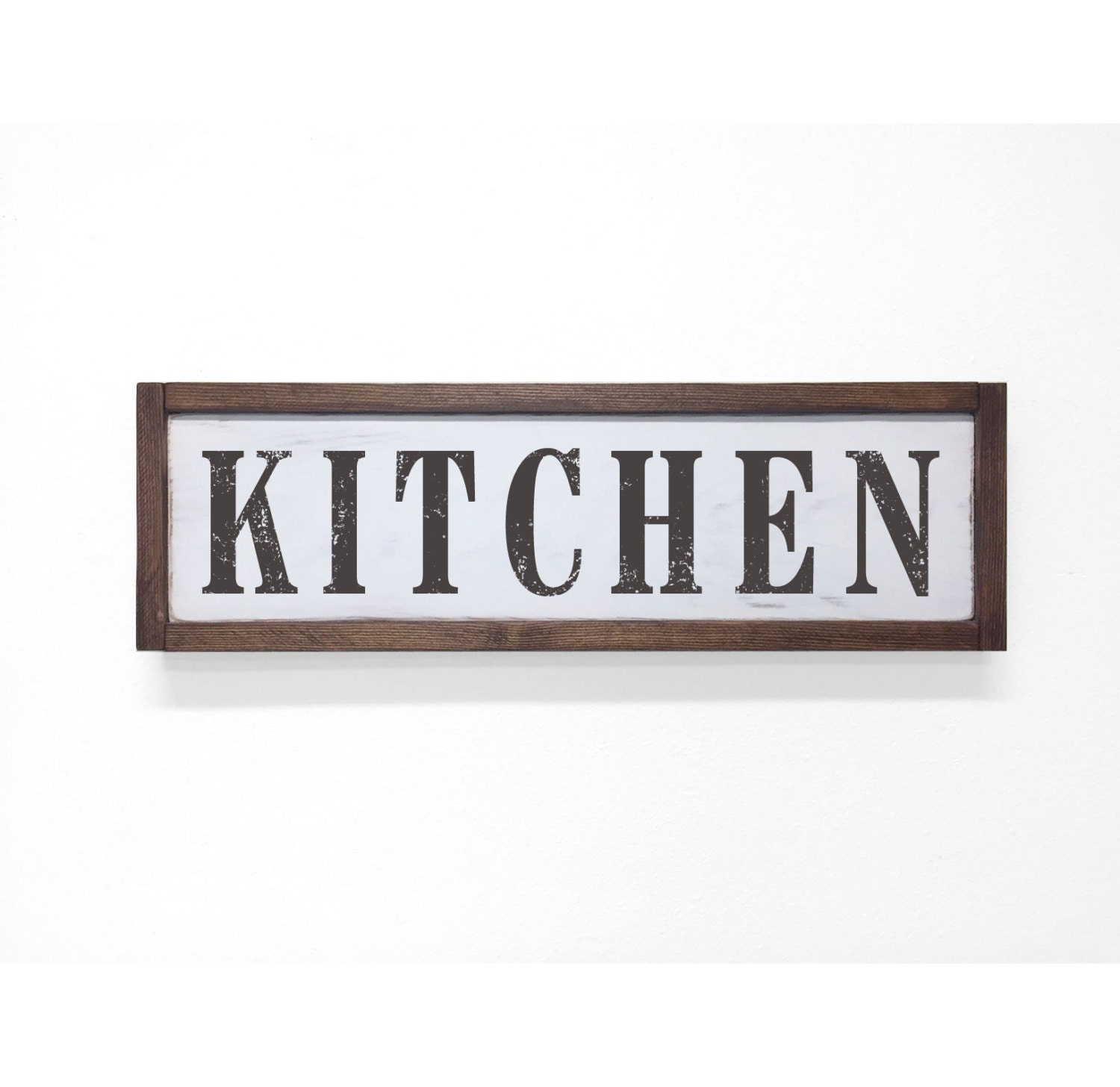 Kitchen Decor Signs Black And White