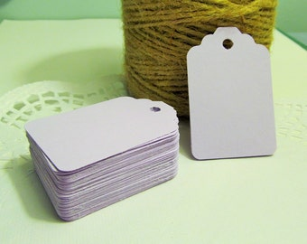 20 Lavender Wedding Tags - Price Tag - Place Cards - Merchandise Tag, Wedding Wish Tags - Bridal Showers - Favor Tags - Food Gift Tags