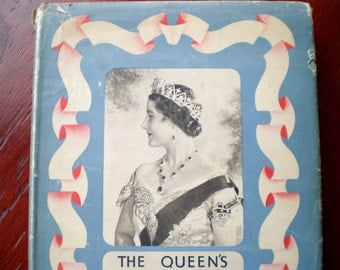 Book - The Queen's Book Of The Red Cross - 1939 - Colour Illustrations - British Royalty