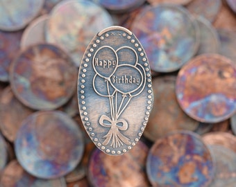 Birthday Party Favor • Copper • Celebration Collection • Party Favor • Pressed Copper Penny