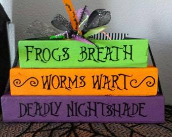 Nightmare Before Christmas Wood Decoration