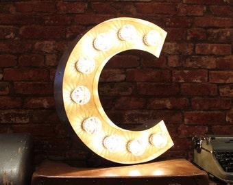 Letter Light C