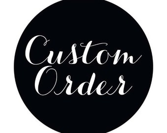 Customize your garment add on to purchase