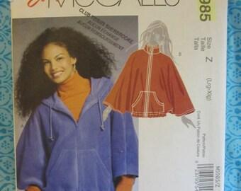 PATTERN MC CALLS M5985 coat like Mantis