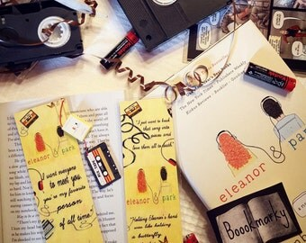 Eleanor & Park bookmark - Handmade