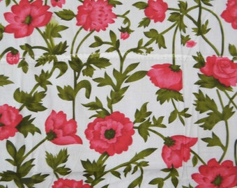 "Indian Designer Floral Pattern Printed Pure Cotton Fabric Sewing and Dress Making Fabric 40"" Crafting Material By The 1 Yard ZBC5115"