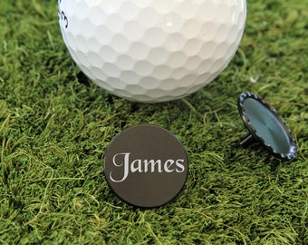 SET OF 6, Personalized Golf Ball Marker, Golf Ball Marker, Ball Marker, Golf Gift, Golf Gift for him, Gift for him, Fathers Day Gift