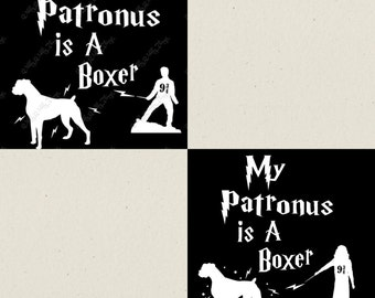My Patronus Is... / You pick your animal Car Decal