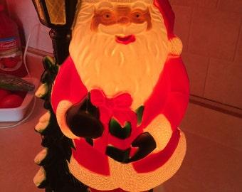 Light Up Santa Claus Etsy