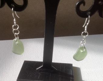 Light Olive Green Earrings