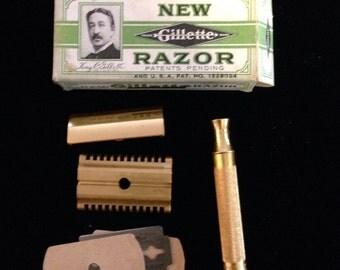 Vintage new in the box Gillette razor.