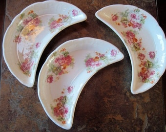3 Vintage Bone Dishes by Colonial - Item #1063