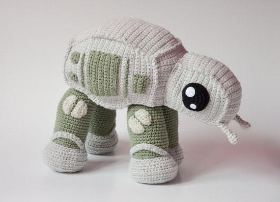 AT-AT walker Crochet PATTERN  by Krawka