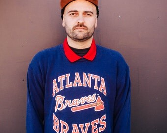 Atlanta Braves Baseball Jersey Sweater