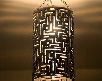 Ceiling lamp aluminium L000 l000 H000 D000
