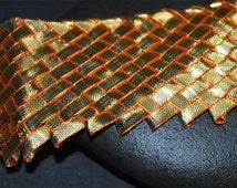 Gota Patti Woven Gold Lace, Gota Patti Border, Gota Patti Trim / Gota Patti Sari Lace / Gota Patti Embellishment