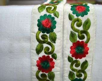 Embroidered Trim, Fabric trims and embellishments, Decorative Trims, Trim By The Yard, Trimming, trim ribbon, ribbon trim, Tapes and trim