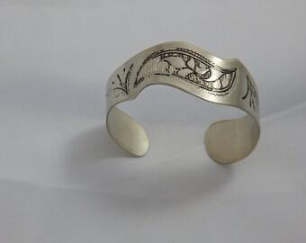 Vintage Hand Made Silver Bracelet