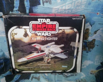 Star Wars X-Wing Fighter Empire Strikes Back Vintage with Box