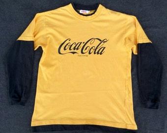 Vtg Coca Cola L/S T-Shirt