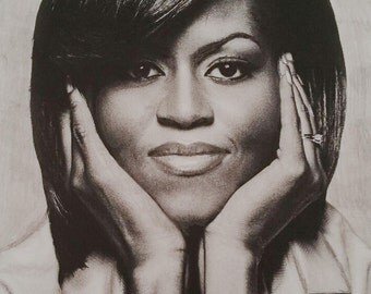 Michelle Obama Drawing/Print