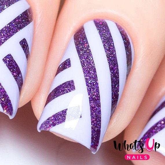 Nail Art Tape Strips: Straight Tape For Nail Art Striping Tape For Nails Nail