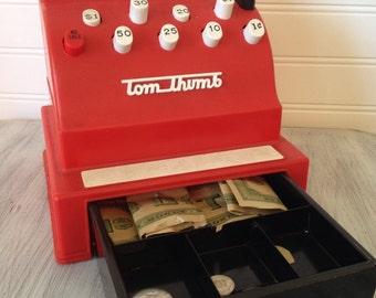 Tom Thumb cash register
