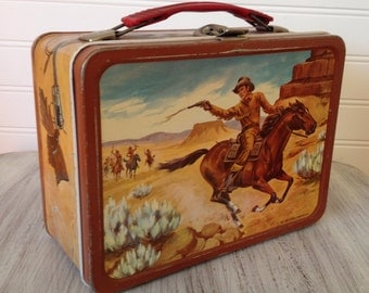 1963 Western lunch box
