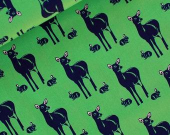 Soft Cactus: Oh Deer in Happy Green