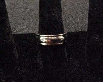 Mans Titanium Ring