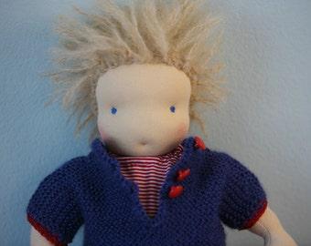 waldorf doll boy Maël 30cm / 12inch