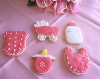 Baby Shower Cookies (1 dozen)