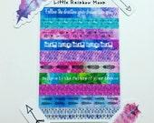 Washi strip dreams sticker sheet