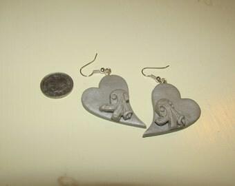 Heart Octopus Earrings