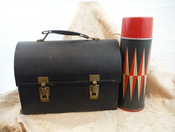 1950s J.C. Higgins Thermos/Aladdin Lunch Box