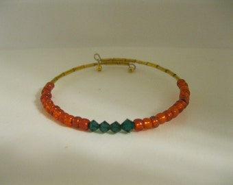 Swarovski Crystals & Glass Beads Bracelet