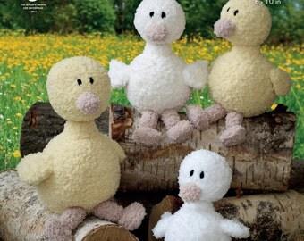 Cuddles Ducks DK Knitting Pattern