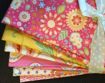 Little Azaleas  by 1/2 yard bundle--Dena Designs for Free Spirit Fabrics