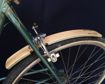 wooden mudguards - maple wood